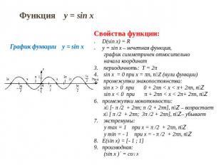 тригонометрические и их графики скачать функции