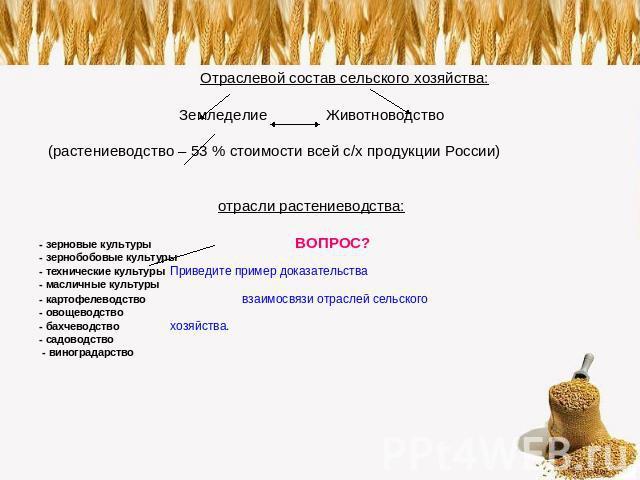 (растениеводство – 53