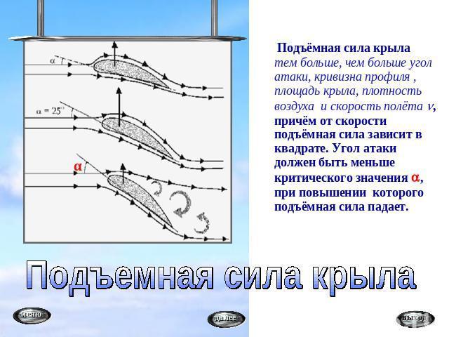 Аэродинамическим фокусом крыла называется точка на хорде