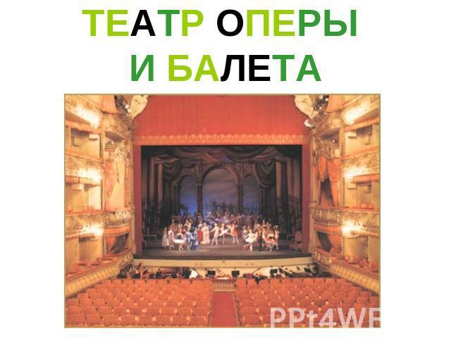 знакомство с театром презентации