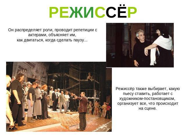 презентация знакомство с театром начальная школа