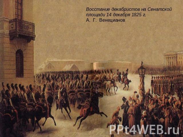 Восстание Декабристов 14 Декабря 1825 Года Кратко Презентация