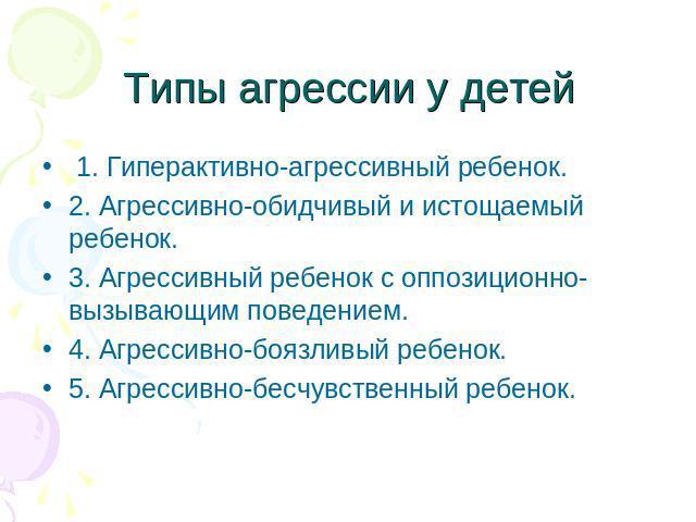 Агрессия У Подростков Презентация