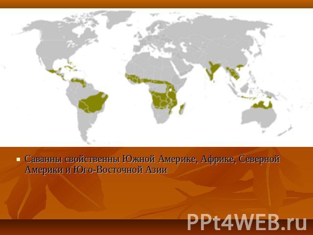 география природные зоны земли таблица