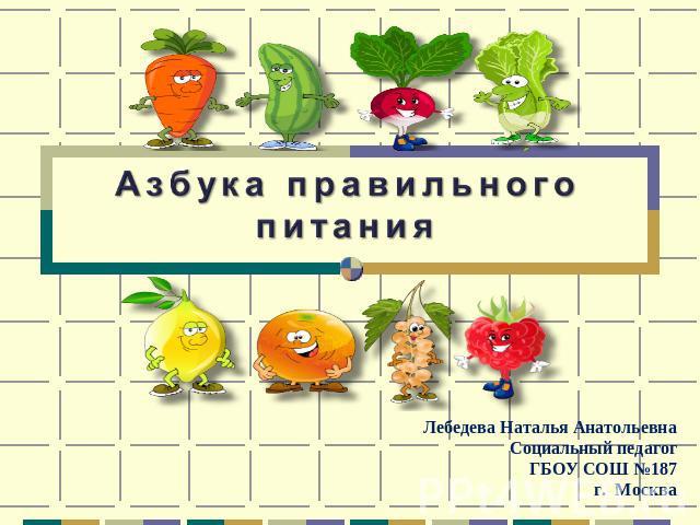 азбука правильного питания