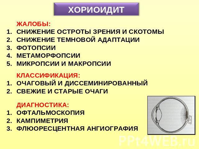 Хориоидит