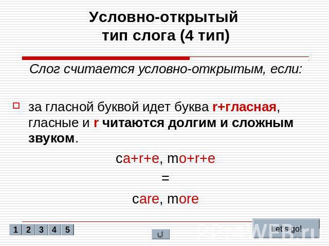 Транскрипция английских букв в таблице