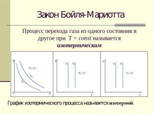 Работа в термодинамике если процесс не изобарный, используется графический метод: работа равна площади фигуры под