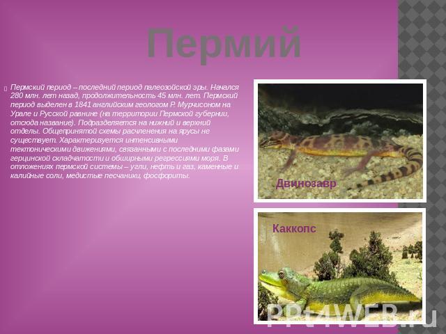 Презентацию по биологии по теме палеозойская эпоха