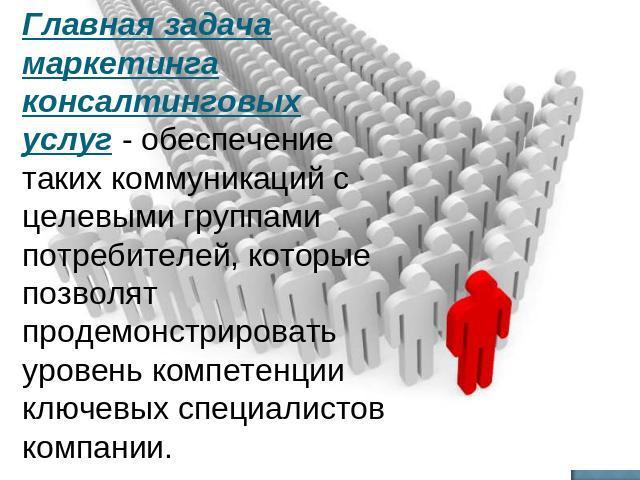 Презентация На Тему Консалтинг В России