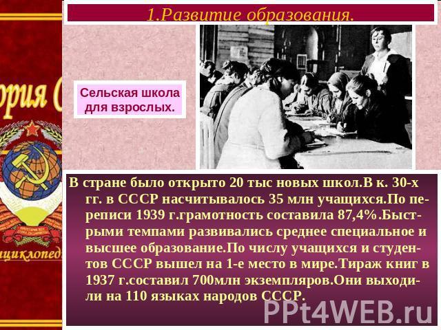 Советская музыка 20-30-х годов