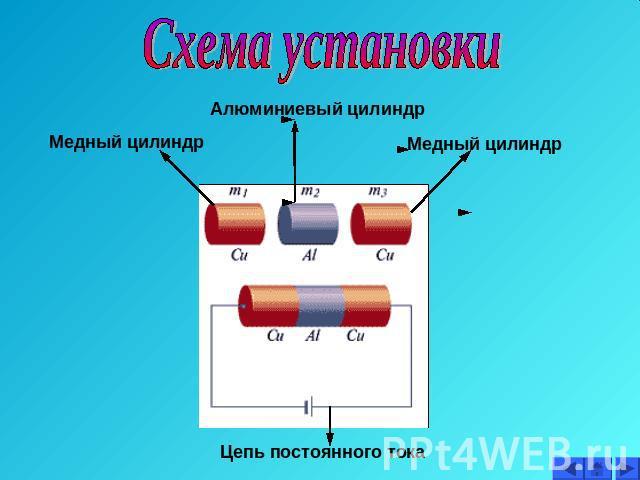Схема установки Алюминиевый