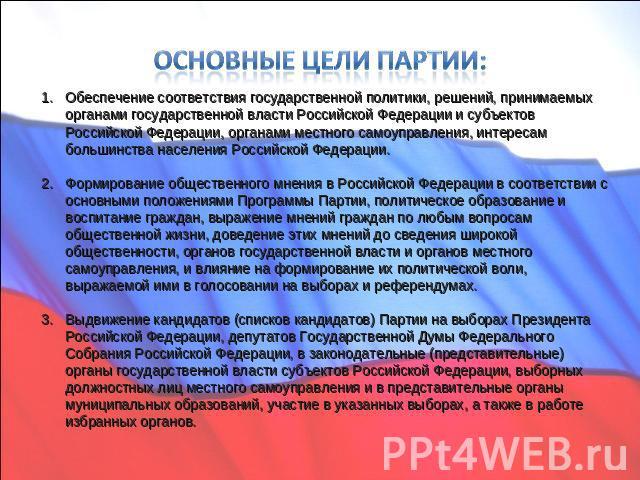 Презентацию на тему единая россия 2016