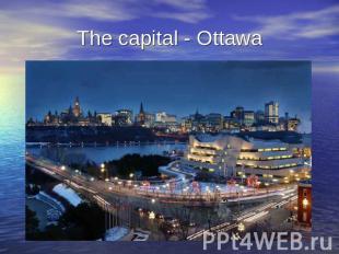 Скачать презентации на английский на тему канада