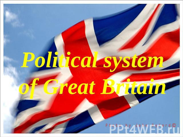 Political system of Great Britain