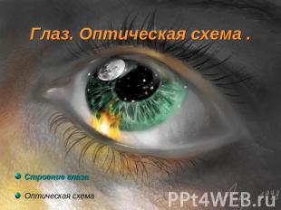 Презентация на тему глаз оптическая