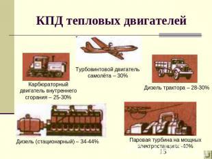 пути повышения кпд двигателя: