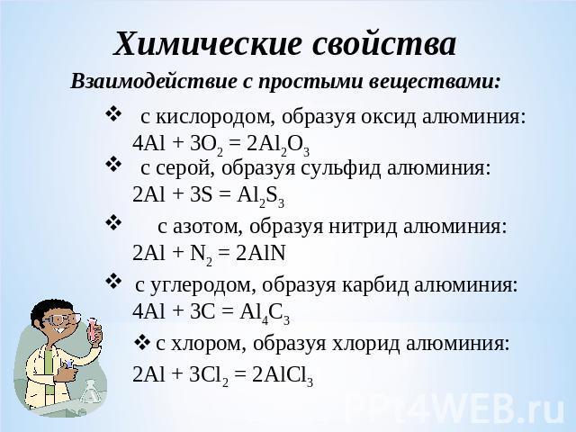 Презентация По Химии Алюминий