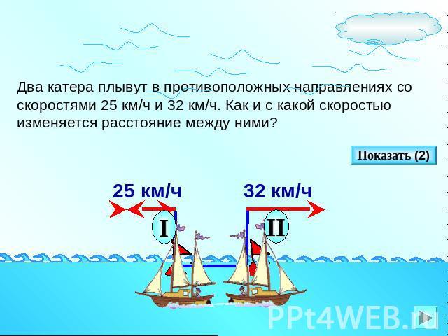 математическая модель движения лодки