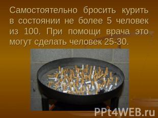 Как бросить курить мужчине со стажем