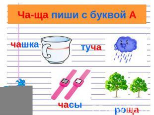 Правила по русскому языку - презентация для начальной школы
