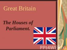 Great Britain The Houses of Parliament