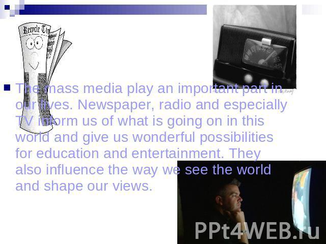 essay topics for mass media