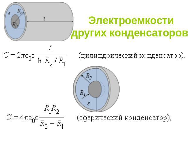 тесты на электроемкость конденсатора 9 класс