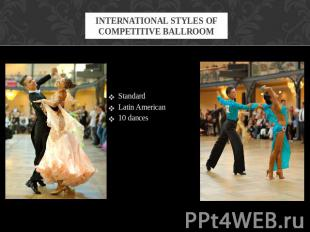 StandardStandardLatin American 10 dances
