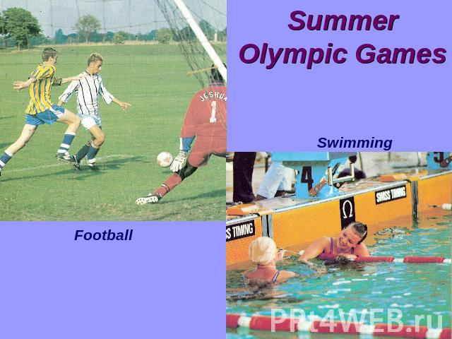 Summer Olympic GamesFootball