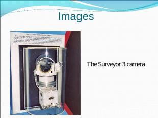 Images The Surveyor 3 camera