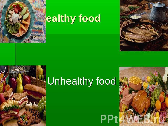 healthy foods essay