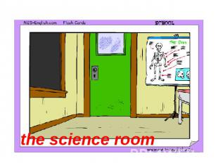 the science room