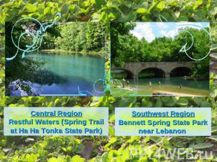 Central RegionRestful Waters (Spring Trail at Ha Ha Tonka State Park)Southwest R