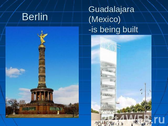 Berlin Guadalajara (Mexico)-is being built