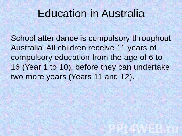 school should not be compulsory after the sixth year Why are you for or against young people staying in school until 18 to compulsory education the or skip a year school leaving age should depend.