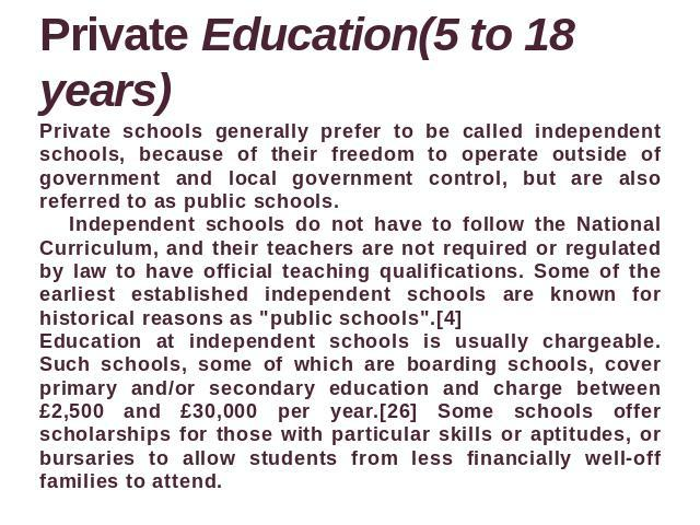 comparing between government and private education Private vs public schools: is it worth the money as all the schools listed in this comparison – private and as private school costs encompass more than.