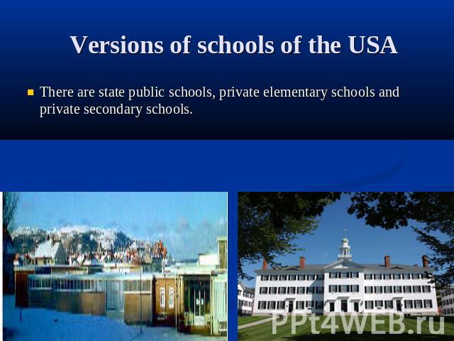 an analysis of the system of vouchers in schools in the united states School vouchers: pros and cons more improvements than comparable public schools when voucher systems are and secondary schools in the united states.