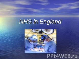 NHS in England