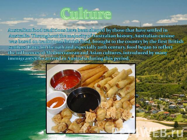 reflection on food culture
