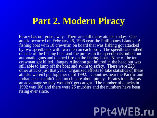 piracy of the media essay The best report ever on media piracy i'm way late to the massive and wonderful report on media piracy in emerging economies by joe karaganis and a.