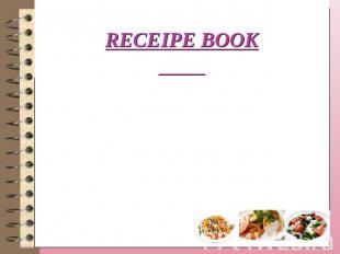 Receipe book