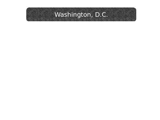 Washington, the capital of the United States is situated on the banks of the Potomac river. The two letters D. and C. stand for the District of Columbia. This district is a small piece of lend that does not belong to any state. It owes its name to C…