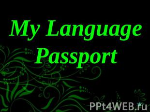 My Language Passport
