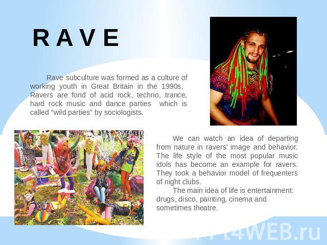 raves and drugs essay