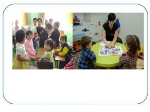 In nursery schools the children learn such things as colours, numbers, letters,
