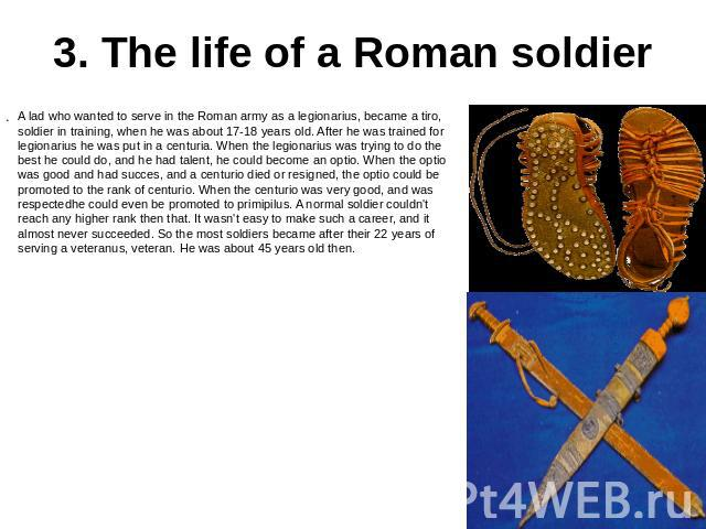 an analysis of the abilities of the roman army Is america the new rome course than that experienced by the roman republic, an analysis of the two stirs the drink with qualities and abilities superior to.
