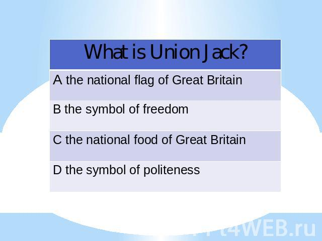 What is Union Jack?