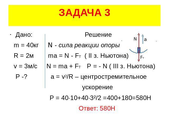 Решение задач 2 закон ньютона формула решение задач по численным методам