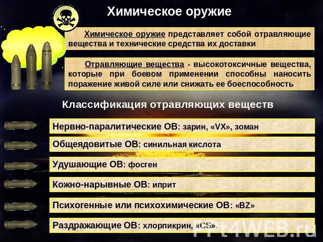 характеристики отравляющих шпаргалка веществ токсичности